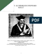Kelly, Edward - Les Ecrits Alchimiques