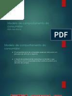 Modelo de comportamento do  consumidor.pptx