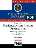 Ch 5 the Regulatory Affairs Perspective Addressing Compliance in a Changing Industry