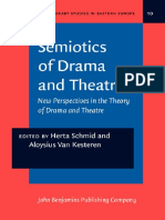 Semiotics of Drama & Theatre