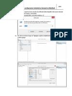 Manual de Configuracion Inalambrico en MacBook
