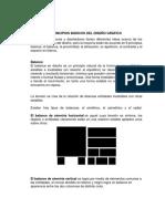 Principios Básicos Del Diseño Gráfico