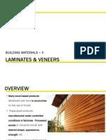 Unit 1-Laminates & Veneers