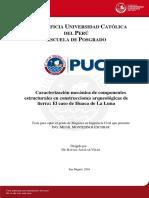 Montesinos Mijail Mecanica Componentes Contrucciones Arqueologicas Huaca