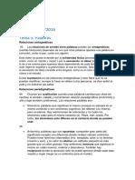Linguistics lesson sample (Spanish)