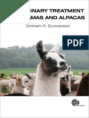 G R Duncanson Veterinary Treatment of Llamas and Alpacas