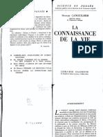 CANGUILHEM, Georges - La connaissance de la vie.pdf