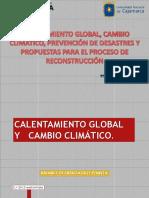 Cambio Climatico y Prevencion de Desastres - Cajamarca