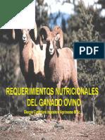 7 Castellaro Requerimientos Nutricionales Del Ovino