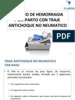 Manejo de Hemorragia Postparto Con Traje Antichoque No Neumatico