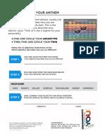 Anthem Method Worksheet