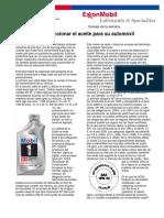 Aceite Para Automoviles