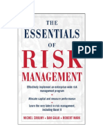 The Essential of Risk Management