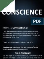 Conscience Report