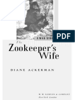 The Zookeeper's Wife a War Story