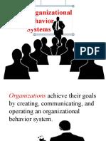 Organizational Behavior Model