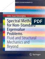(SpringerBriefs in Mathematics) Călin-Ioan Gheorghiu (Auth.)-Spectral Methods for Non-Standard Eigenvalue Problems_ Fluid and Structural Mechanics and Beyond