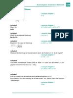Uebungsaufgaben Brueckenkurs Mathe