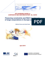 Référence NC2 Financing constraints and R&D investments of large corporations in Europe and the USA.pdf
