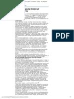Juizado Especial Criminal_ Procedimento - Artigos - Jus Navigandi