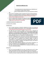 Articulos Bases Del Derecho Civil