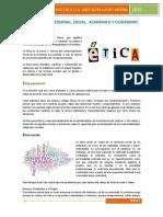 Etica Ambito Personal Social Academico