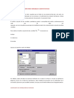 Medidas de Asociación Para Variables Cuantitativas