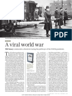 The Spanish Flu of 1918 and How It Changed the World