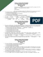 Math 001 Test Sem i 2016