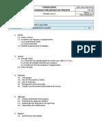 (for-COM-04-04) Formulario Cronograma Preliminar Do Projeto NR12