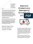 emergency plan brochure 2016