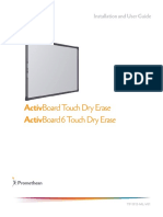 ActivBoard+Touch+Dry+Erase manual