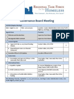 Regional Task Force on the Homeless Board Meeting Packet