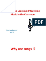Music and Learning