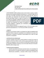 Pesquisa de Mercado 007 2017 Especialista Em Qualidade de Água