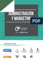 Administracion y Marketing