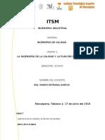 317483296 Ingenieria de Calidad Unidad 1 Docx