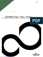 Esprimo p4 Series