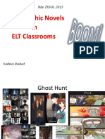 Using Graphic Novels in ELT Classrooms BY Nashwa Rashed