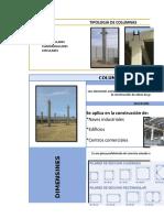 Prefabricado -Columnas y Muro de Contencion