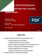 WhatsNewInRHEL7 RHLS Hnath Hacker