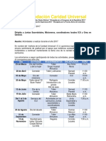 Cronograma Actividades ICU