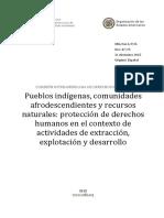 CIDH - Informe Sobre Industrias Extractivas