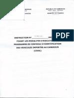 Procédure de Contrôle Des Véhicules Importés008