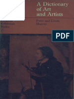 A Dictionary of Art and Artists [Peter and Linda Murray