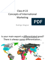 Class 22 - International Marketing