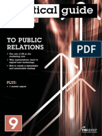 Practical Guide to Public Relations