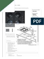 Encimeras a Gas - POP616B80V Bosch Electrodomésticos