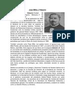Biografia de Jose Milla y Vidaurre María Josefa Garcia Granados Jose Batres Montufar
