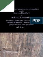 Reflexion final - carreteras bolivia.pps